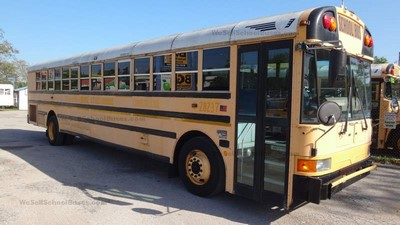 Stock #2613 2008 International IC RE300 Allison 3000 Automatic Air Brakes 13 rows Clean Used School Bus For Sale Near Me Florida Used Buses BGA School Buses Inc