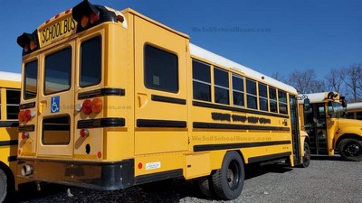 Stock #2623 2011 International IC CE300 Allison Automatic 2000 Air Brakes 9 Row Flat Floor Wheel Chair Lift High Top Clean Used School Bus For Sale Near Me @ BGA School Buses, Inc. Hudson, FL
